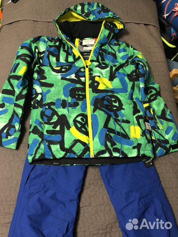 3c48263e0dd4 Quicksilver куртка и штаны для лыж и сноуборда 14л купить в Москве ...