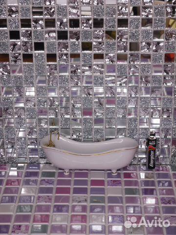 плитка для ванной кухни дома барби и 1к12 зеркало купить в москве