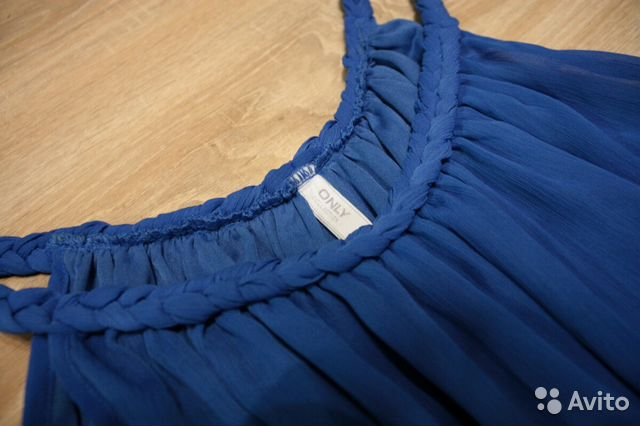 56a243ff3b8 Синее платье only