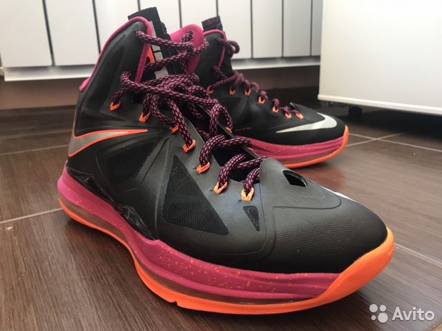5dff0a52 Баскетбольные кроссовки Nike Lebron 10 10US   Festima.Ru ...
