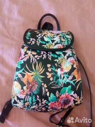 43d11ae2a65e Новая сумка-рюкзак, цветастая купить в Москве на Avito — Объявления ...