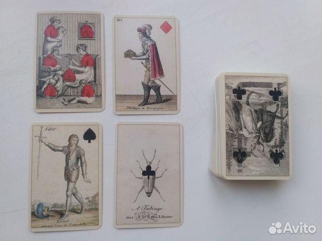 Игральные карты Гете (Playing Card Goethe)