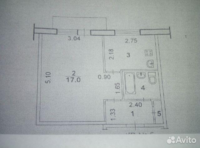 Продается однокомнатная квартира за 1 100 000 рублей. Волгоградская обл, г Волжский, пр-кт им Ленина, д 101.
