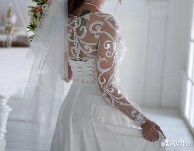 Свадебное платье Ulana, А-Силуэт 89524482466 купить 1