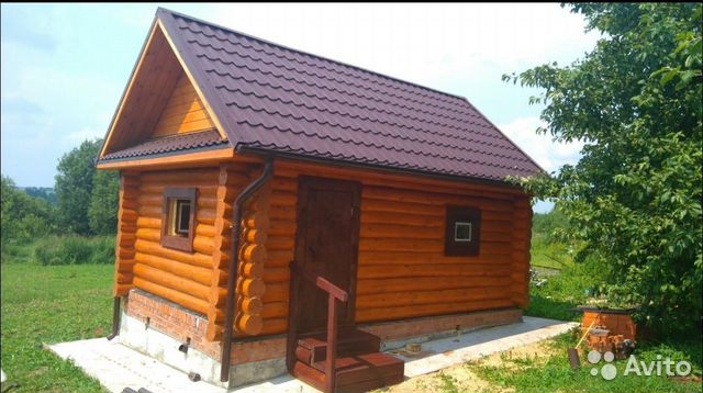The construction of houses, baths, roofs, fence