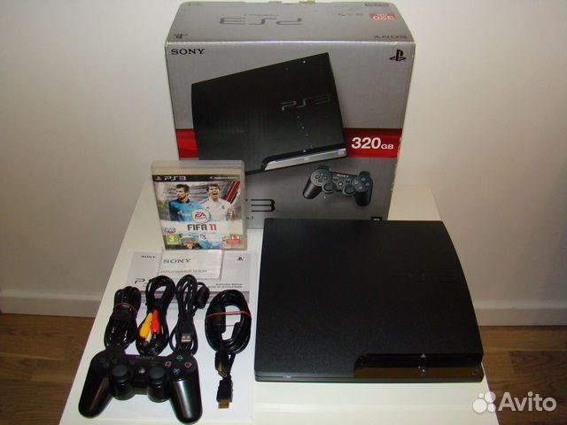 Playstation 3 PS3 cech-2508B 320 Gb прошиваемая купить в Москве на