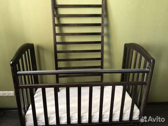 Кроватка Детская (в подарок матрас, мягкие бортики 89132873839 купить 4