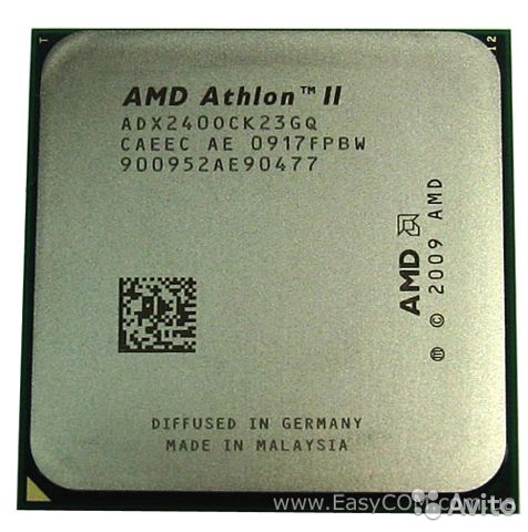 AMD Athlon II X2 240— фотография №1
