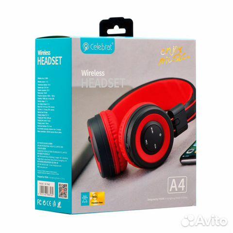 84942303606 Блютуз наушники celebrat wireless headset