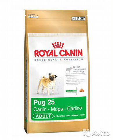 Royal Canin для собак Мопс 1.5 кг— фотография №1