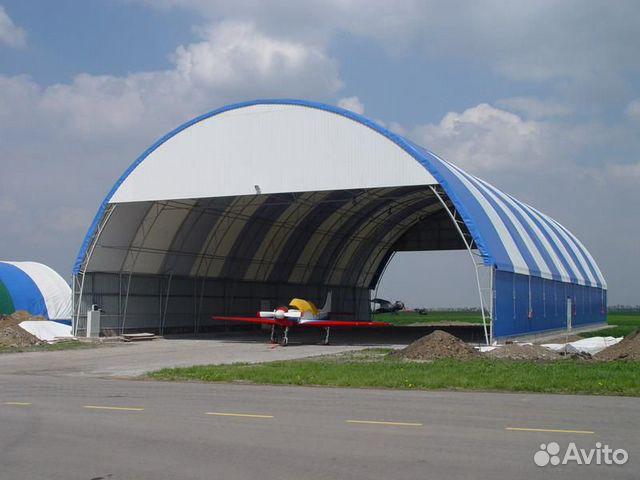 Ангар комбинированный пвх/Профлист (12 х 30 х 7 м)