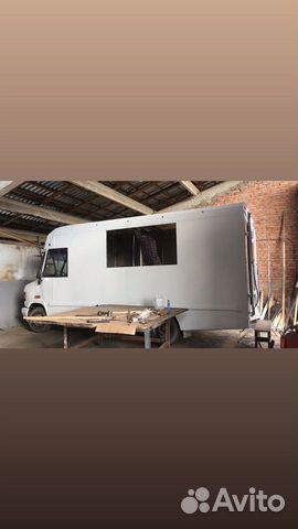 Mercedes 609 D food truck/фудтрак 89892300393 купить 1