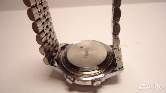 Часы полет с будильником механика браслет СССР купить 5