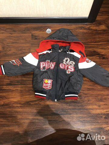 Куртка демисезонная 92-98