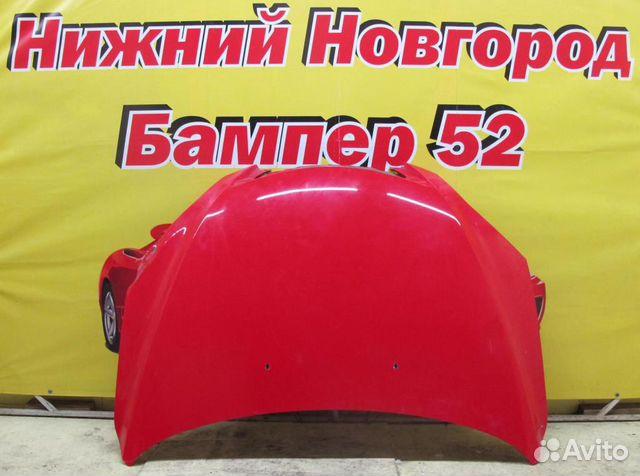 89524408730 Mazda 3 (BK) 2002-2009 капот красный