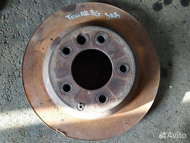 Тормозной диск задний Volkswagen Touareg 3.0 2008 купить 1