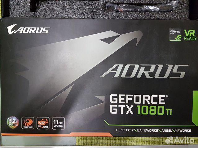 Видеокарта GTX-1080ti 11gb. aorus  89063137454 купить 9