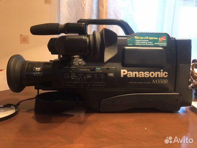 Видеокамера Panasonic M3500 89276827010 купить 1