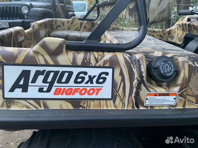 Продам вездеход Argo Bigfoot 6x6 89662713691 купить 5