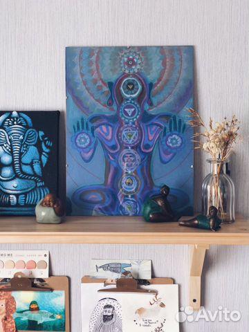 Картина в технике пастельной живописи