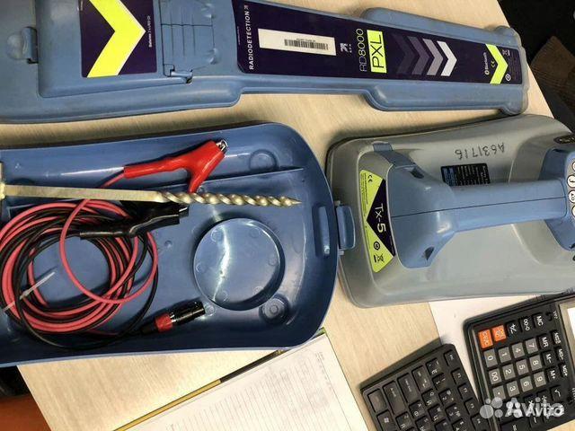 Radiodetection RD7000+ в комплекте TX5