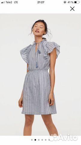 Платье льняное ASOS и хлопковое H&M