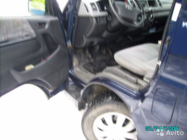 Toyota Hiace, 2006  89190047664 купить 7
