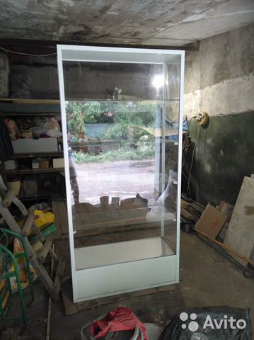 Стеклянный стеллаж (витрина для магазина)  89293686087 купить 3