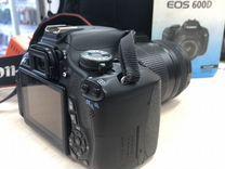 Фотоаппарат Canon 600D 18-135 is пробег 30200