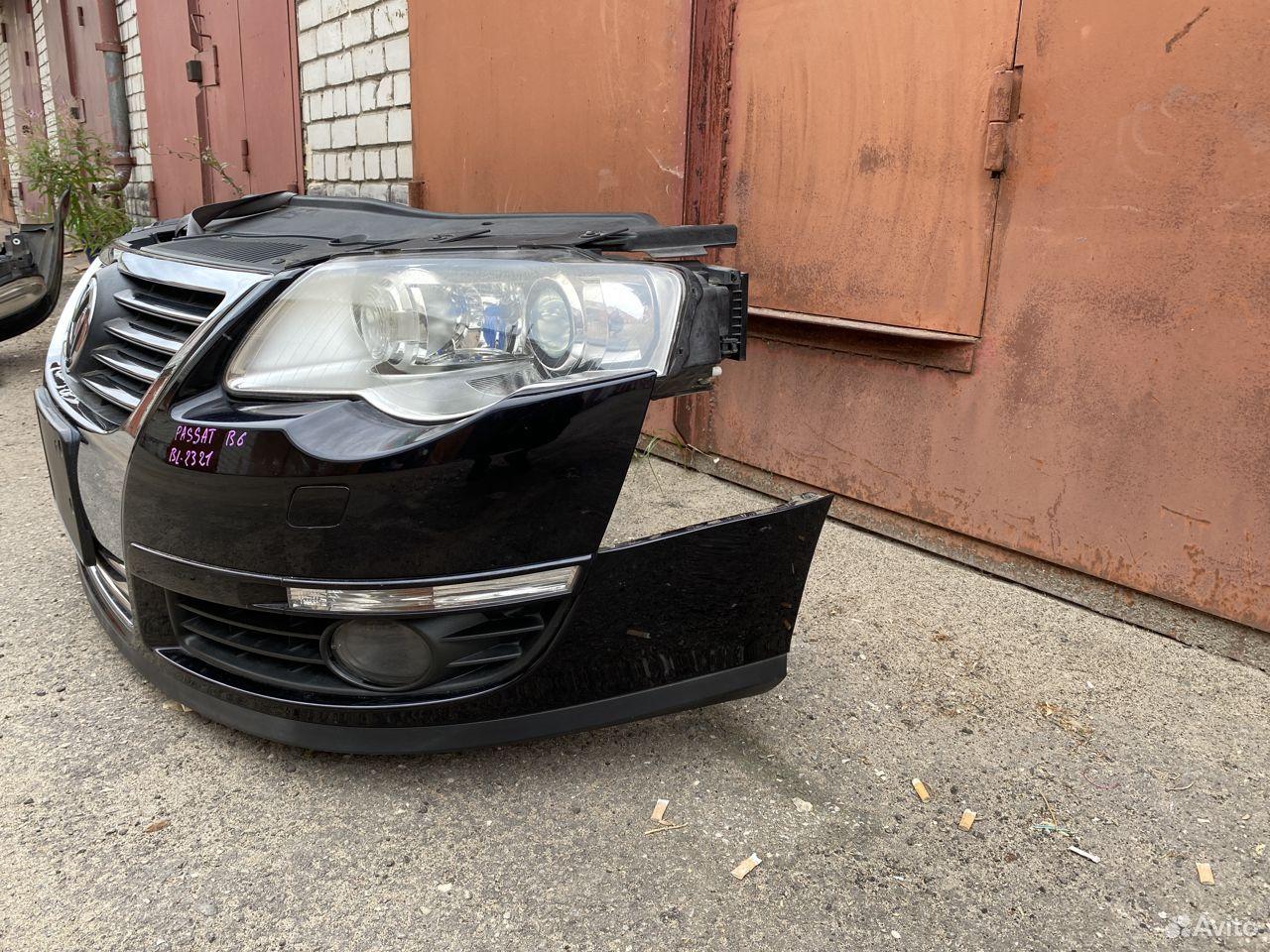 Ноускат черный Volkswagen Passat B6  89534684247 купить 4