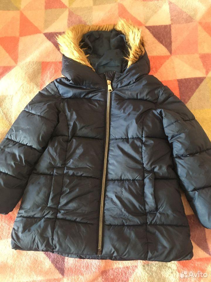 Теплая куртка на девочку  89292708675 купить 1
