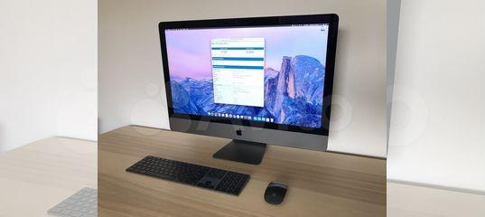 Apple iMac Pro 18-core 256GB 2TB Vega 64 16GB купить в Москве | Бытовая электроника | Авито