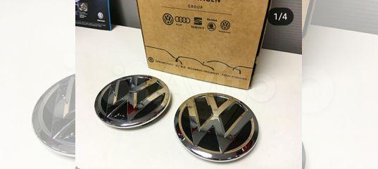 Эмблема решетки Радиатора Volkswagen Polo Рест купить в Санкт-Петербурге   Запчасти   Авито
