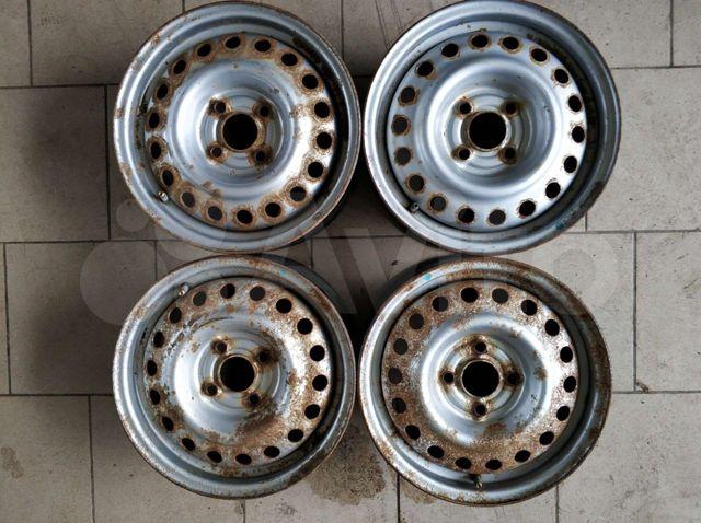Диски стальные на Hyundai Getz R 14 4штуки