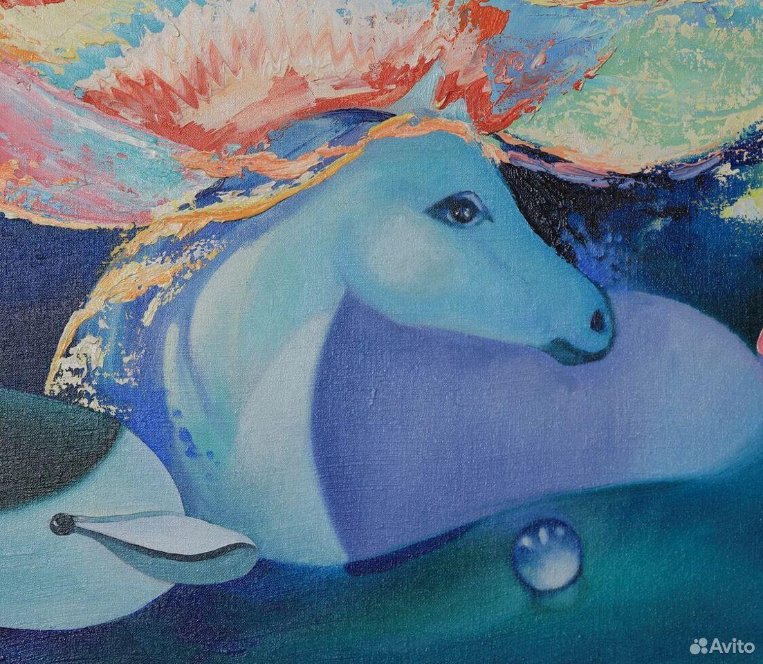 Картина холст масло живопись  89172043323 купить 5