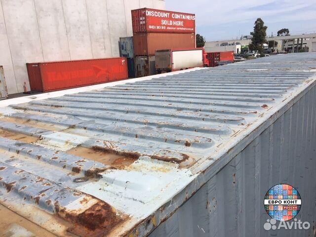 Морской контейнер 40ft HC (высокий) №6464