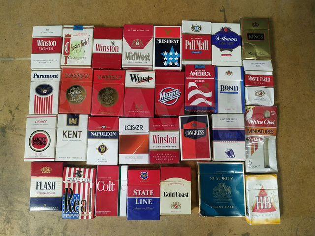 купить пустые пачки под сигареты