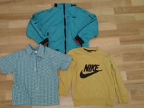 Брендовые вещи Armani, Nike пакетом