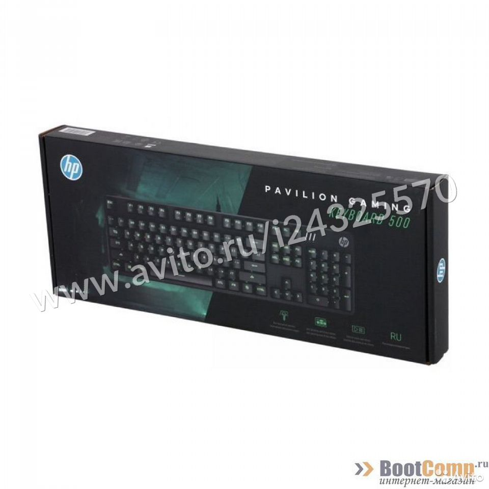Игровая клавиатура HP Pavilion Gaming 500  84012410120 купить 5