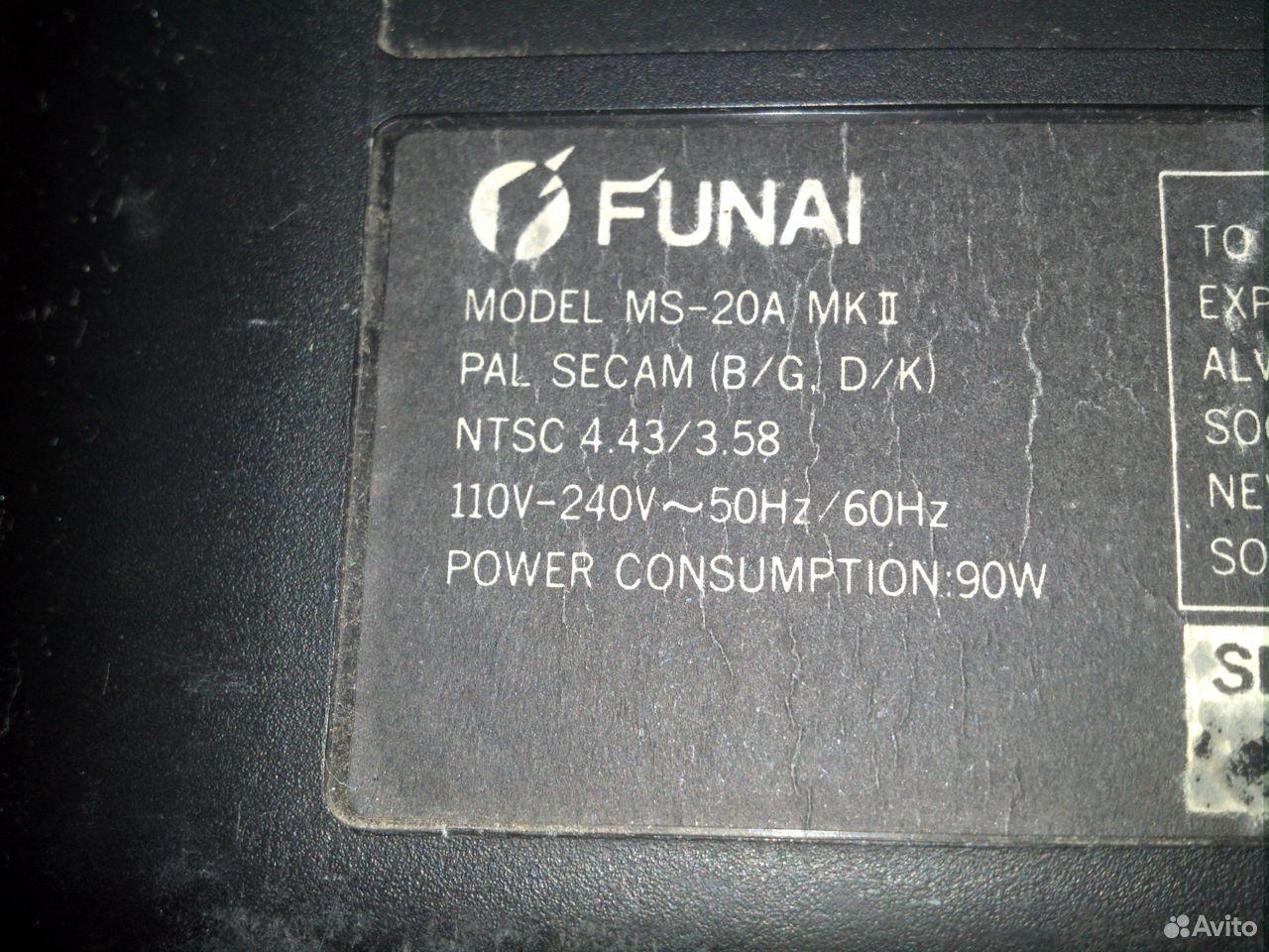 Телевизор funai б/у  89023569733 купить 2