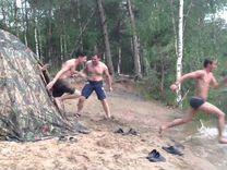Палаточная баня с печкой — Спорт и отдых в Челябинске