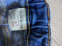 Джинсовые шорты zara 122