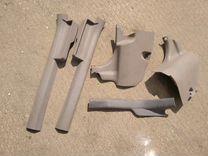 Пластик порога переднего nissan almera n15 n16