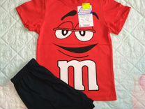 Костюм тренд (футболка+шорты) для мальч., рост 110