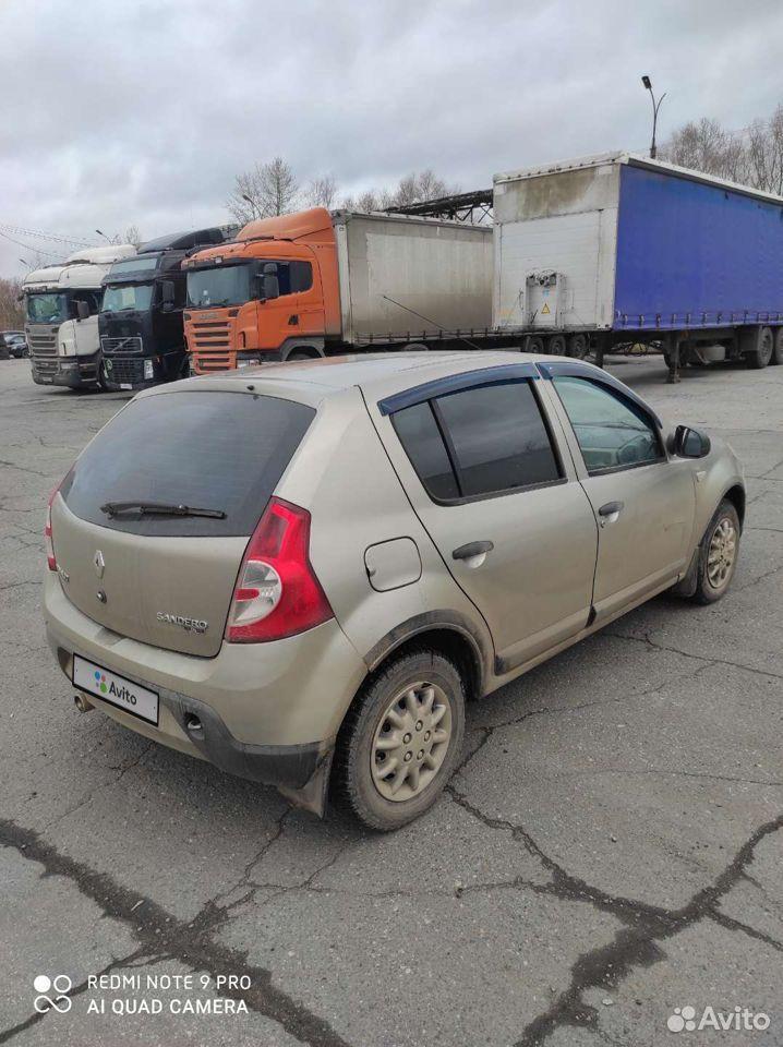 Renault Sandero, 2010  89128768355 купить 1