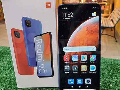 Xiaomi Redmi 9C 32Gb NEW (Рассрочка)