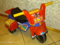 Детский мотоцикл-беговел