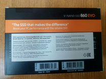 Новый ssd SAMSUNG 860 Evo 250 Gb