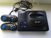 Sega с картриджами (44шт)