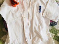 Кимоно киокушинкай размер 1/4 (146 -152 см). Защит